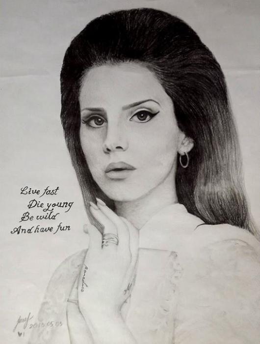 Lana Del Rey par Inndre
